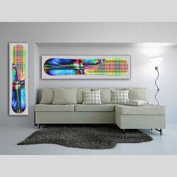Snowboard Designer Wandbild - DIXTIME - SBB-053