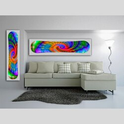Snowboard Designer Wandbild - DIXTIME - SBB-052