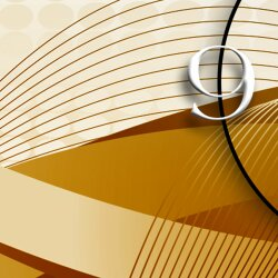 Digital Designer Art abstrakt Designer Wanduhr modernes Wanduhren Design leise kein ticken DIXTIME 3D-0380