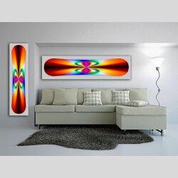 Snowboard Designer Wandbild - DIXTIME - SBB-021