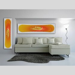 Snowboard Designer Wandbild - DIXTIME - SBB-019