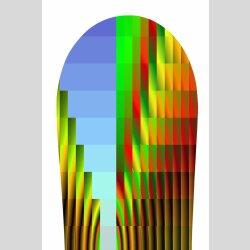Snowboard Designer Wandbild - DIXTIME - SBB-012