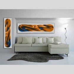 Snowboard Designer Wandbild - DIXTIME - SBB-007