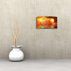 Digital Designer Art Planet Designer Wanduhr modernes Wanduhren Design leise kein ticken DIXTIME 3D-0369