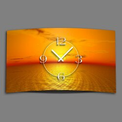 Digital Designer Art Sunset Designer Wanduhr modernes...