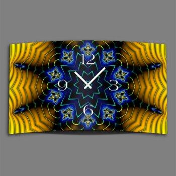 Digital Art Designer Wanduhr modernes Wanduhren Design leise kein ticken DIXTIME 3D-0339