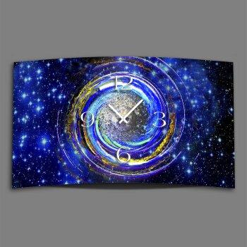 Galaxy Weltall Designer Wanduhr modernes Wanduhren Design leise kein ticken DIXTIME 3D-0314