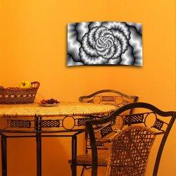 Abstrakt grau  Designer Wanduhr modernes Wanduhren Design leise kein ticken DIXTIME 3D-0306