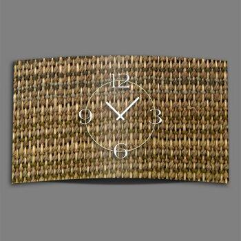 Motiv Handarbeit Designer Wanduhr modernes Wanduhren Design leise kein ticken DIXTIME 3D-0288
