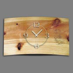 Vintage Holz Optik Designer Wanduhr modernes Wanduhren...