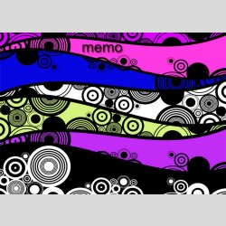 P0160 dixtime Moderne Designer Pinnwand