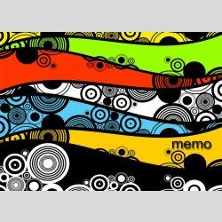 P0159 dixtime Moderne Designer Pinnwand