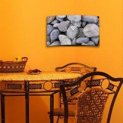 Natur Steine  Designer Wanduhr modernes Wanduhren Design leise kein ticken DIXTIME 3D-0284