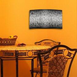 Digital Art Gestein  Struktur Designer Wanduhr modernes Wanduhren Design leise kein ticken DIXTIME 3D-0276