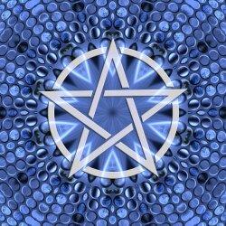 G010 Dekorfolie 100cm - Wandfolie Pentagramm Gothic...