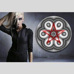 G007 Dekorfolie 100cm - Wandfolie Pentagramm Gothic...