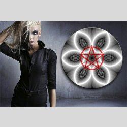 G004 Dekorfolie 100cm - Wandfolie Pentagramm Gothic...