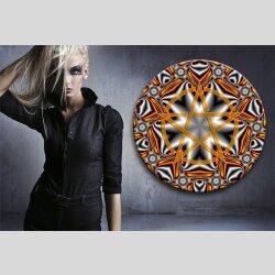 G003 Dekorfolie 100cm - Wandfolie Pentagramm Gothic...