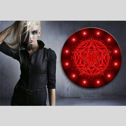 G002 Dekorfolie 100cm - Wandfolie Pentagramm Gothic...