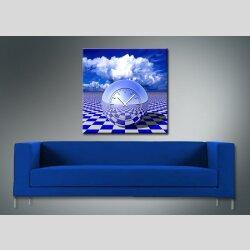 3075 Dixtime Designer Wanduhr, Wanduhren, Moderne...