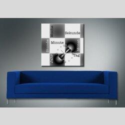 3070 Dixtime Designer Wanduhr, Wanduhren, Moderne...