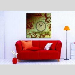 3064 Dixtime Designer Wanduhr, Wanduhren, Moderne...