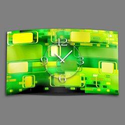 Retro grün Designer Wanduhr modernes Wanduhren...