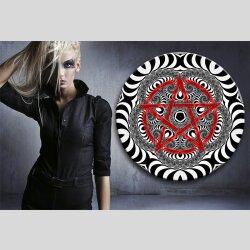 G001 Dekorfolie 100cm - Wandfolie Pentagramm Gothic...