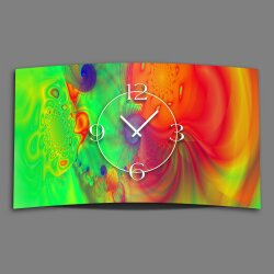 Psychodelic Farbverlauf Designer Wanduhr modernes...
