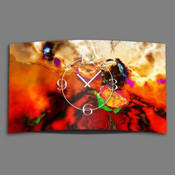Abstrakt Farbflash Designer Wanduhr modernes Wanduhren Design leise kein ticken dixtime 3D-0230