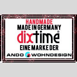 Retro 70er braun Designer Wanduhr modernes Wanduhren Design leise kein ticken dixtime 3D-0217