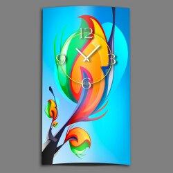 Regenbogenbaum Designer Wanduhr modernes Wanduhren Design...