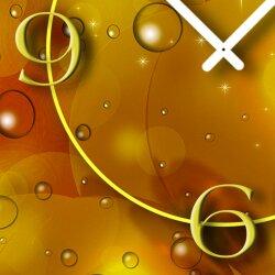 Seifenblasen Bubbles Designer Wanduhr modernes Wanduhren Design leise kein ticken dixtime 3D-0170