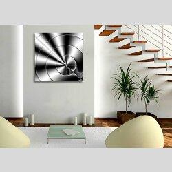 3153 Dixtime Designer Wanduhr, Wanduhren, Moderne Wohnraumuhr  70cm x 70cm