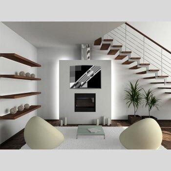 exklusive 3d xxl designer wanduhr dixtime, Innenarchitektur ideen