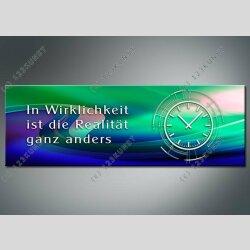 3823 Dixtime Designer Wanduhr, Wanduhren, Moderne...