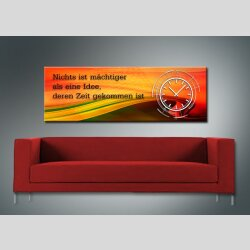 3819 Dixtime Designer Wanduhr, Wanduhren, Moderne...