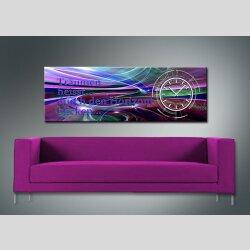 3815 Dixtime Designer Wanduhr, Wanduhren, Moderne...