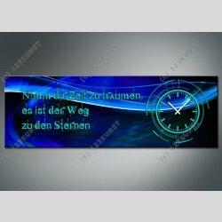 3813 Dixtime Designer Wanduhr, Wanduhren, Moderne...