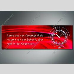 3809 Dixtime Designer Wanduhr, Wanduhren, Moderne...