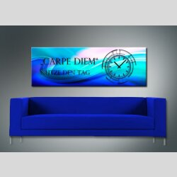 3808 Dixtime Designer Wanduhr, Wanduhren, Moderne Wohnraumuhr