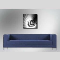 4220 Dixtime Designer Wanduhr, Wanduhren, Moderne Wohnraumuhr