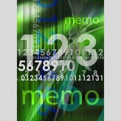 P0022 dixtime Moderne Designer Pinnwand