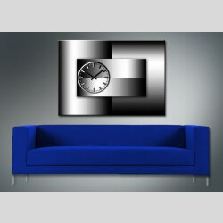 3732 Dixtime Designer Wanduhr, Wanduhren, Moderne...