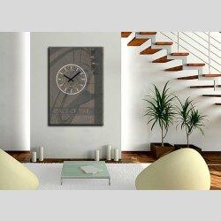 3714 Dixtime Designer Wanduhr, Wanduhren, Moderne...