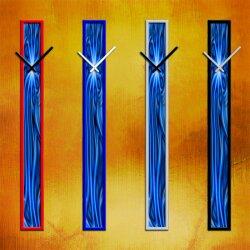 S005 Dixtime Wanduhren Style SlimLine 10cm x 100cm inkl....