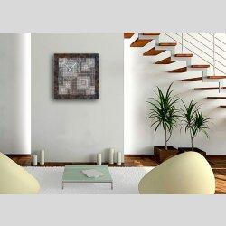 6058 Dixtime Designer Wanduhr, Wanduhren, Moderne Wohnraumuhr