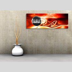6117 Dixtime Digital Designer Wanduhr, Moderne...
