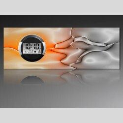 6118 Dixtime Digital Designer Wanduhr, Moderne...