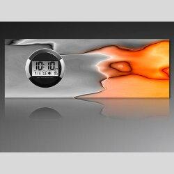 6119 Dixtime Digital Designer Wanduhr, Moderne...